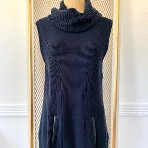 Tommy Hilfiger Sleeveless Turtleneck Sweater Med